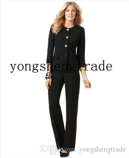 Design Women Business Suit Custom Made Black Women Suits Perfect ...