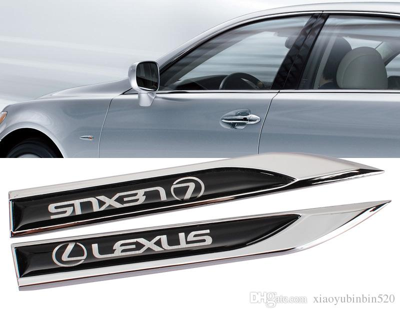 2017 Lexus Motors Blade Decal Landmark 3d Logo Emblems