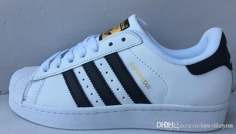 Gold And Silver Uppers Appear On The adidas Originals Superstar
