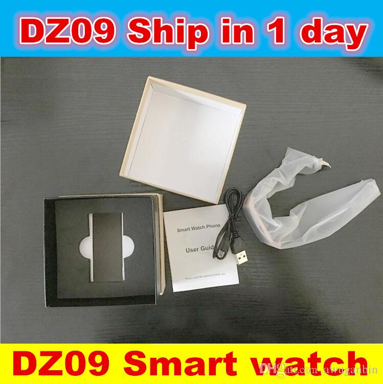 2016 New DZ09 montre Smart Watch Bluetooth Smartwatch Montres Téléphone Support