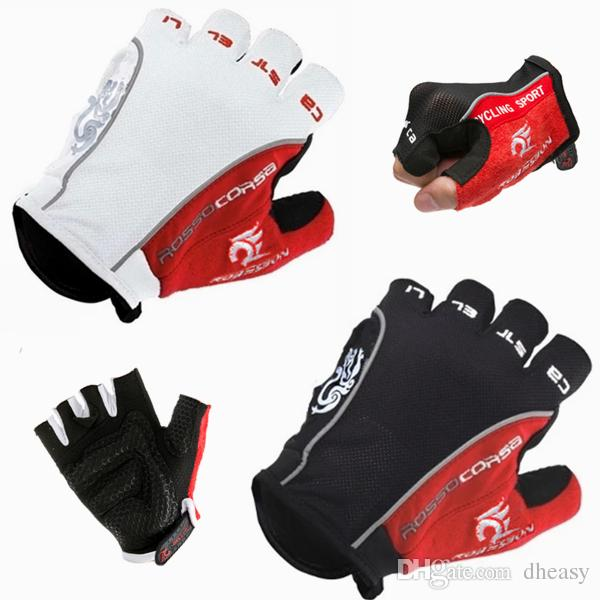 Wholesales Original Bike VTT Half Finge Guantes GEL Bicycle Bike Luvas Bicicleta