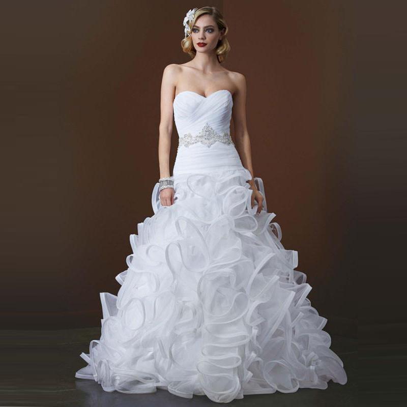 2016 ball gown wedding dresses white zipper back for Dhgate wedding dresses 2016