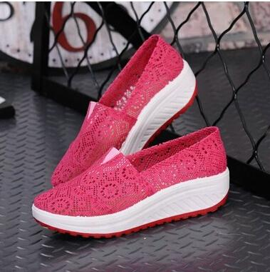2016 Summer Casual Shoes For Women Wedges Platform Shoes ,Women ...