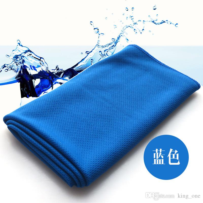 Sweat Towel On Neck: Creative Cold Towel Exercise Sweat Summer Ice Towel 90