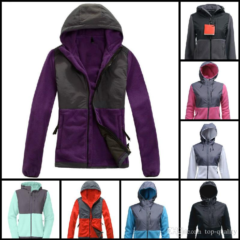 Top Quality Winter Women Fleece Hoodies Vestes Camping Windproof Ski Warm Down M