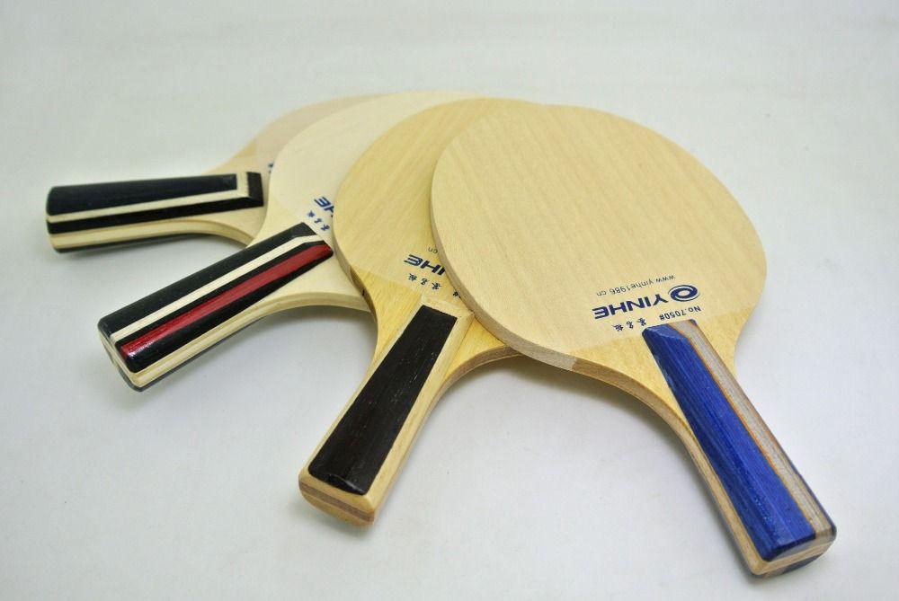 2018 wholesale yinhe mini signature beginner pure wood table tennis blade table tennis blade - Table tennis bat for beginners ...