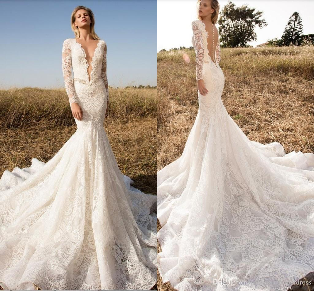 Mermaid Tail Wedding Dresses