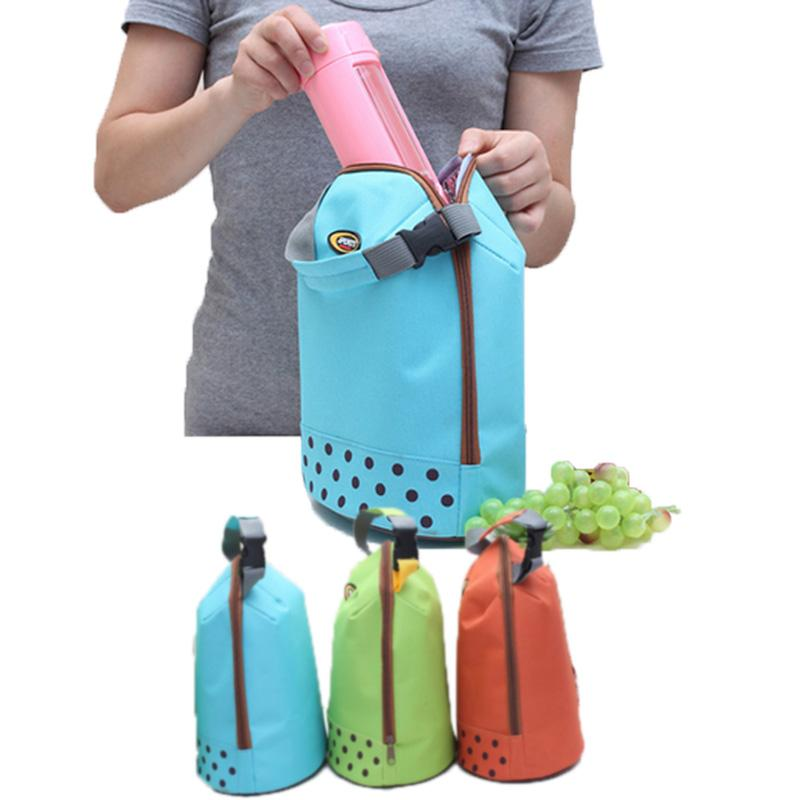 Snoogg Travel Outdoor Carry Lunch Bag Picnic Tote Box Container Zip Out Removable Carry Lunchbox Handle Tote Lunch
