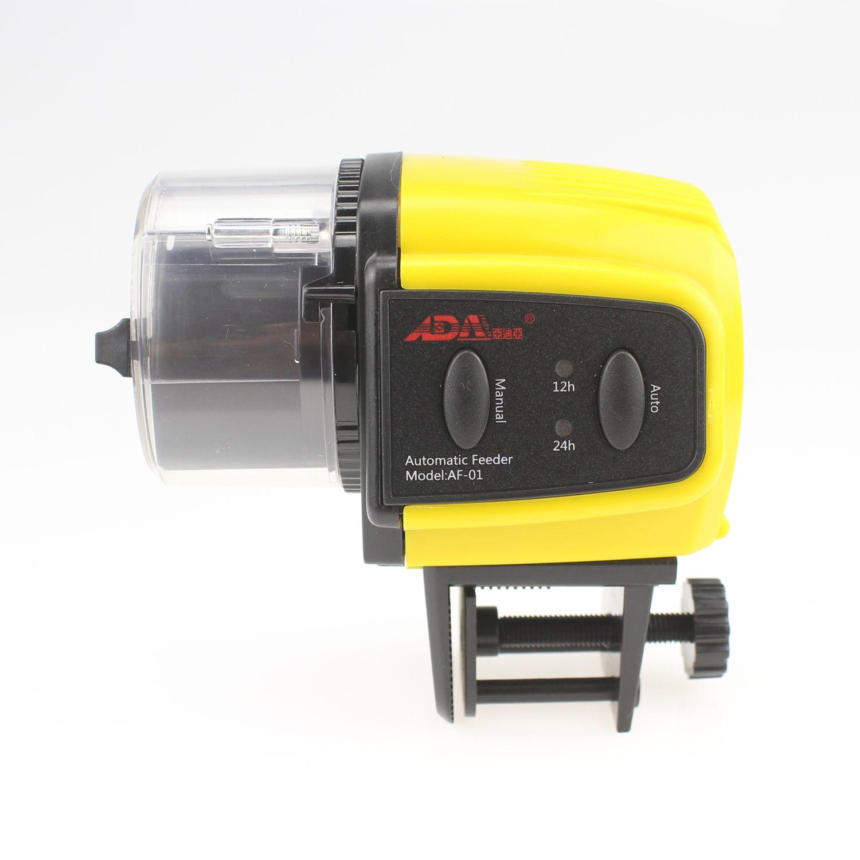 Fish tank feeder - Ada Aquarium Automatic Fish Food Tank Feeder Timer Quantities Control Good For Flakes Granules Or