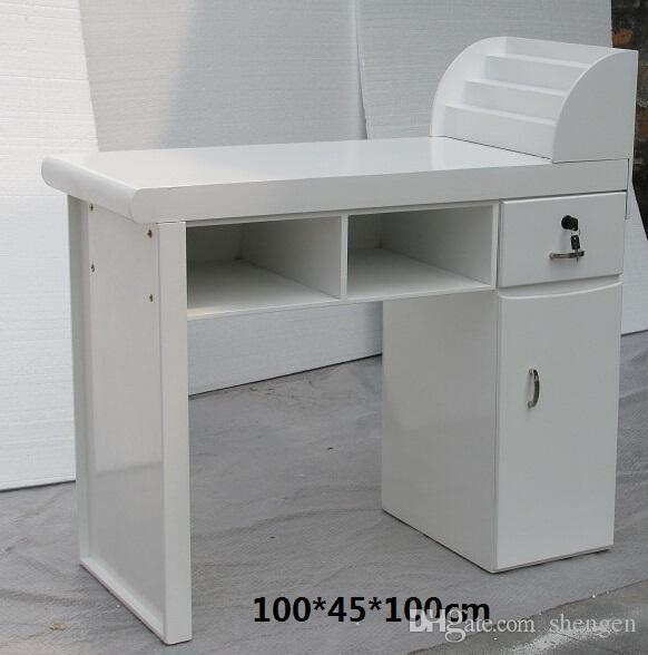 Online cheap salon furniture nail table manicure desk for Cheap nail desk