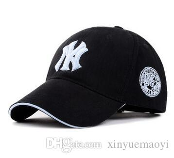 11 Couleur Yankees Hip Hop MLB Snapback Baseball Casquettes NY Chapeaux MLB Unis