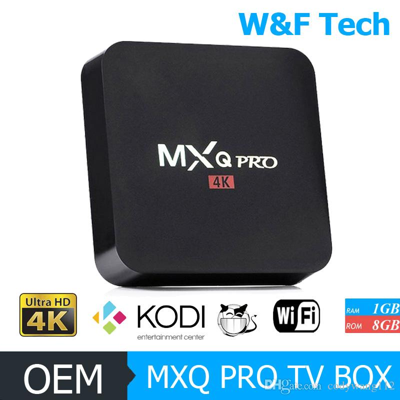 MXQ PRO 4K/MXQ-4K TV Box Quad Core RK3229 KODI 16.1 Fully Loaded Android 5.1 Android Smart OTT TV Set Top Box