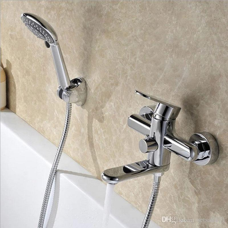 hotel home sprinkler faucet bathroom shower faucets bathtub faucet mixer tap with hand shower exposed shower faucet sets bathtub faucet bathroom shower - Shower Faucets