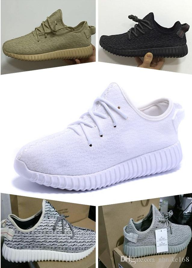 Top quality boost 350 Pirate Black Moonrock Grey Oxford Tan White Turtle Dove with box Bag Mix order accept size euro 36-46