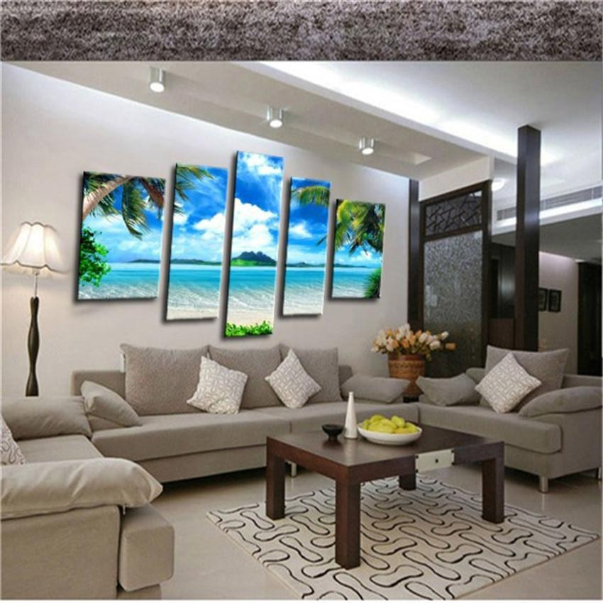 2017 High Quality 3d Modern Home Decor Oil Painting Canvas