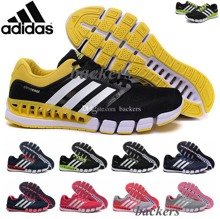 adidas climacool shoes black yellow nz