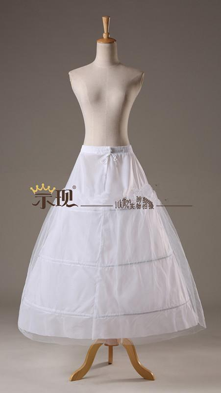 Super Cheap Ball Gown 6 Hoops Petticoat Wedding Slip Crinoline ...