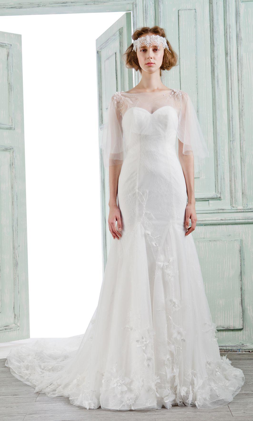 Bella Bride Glamorous Lace Mermaid Wedding Dresses With