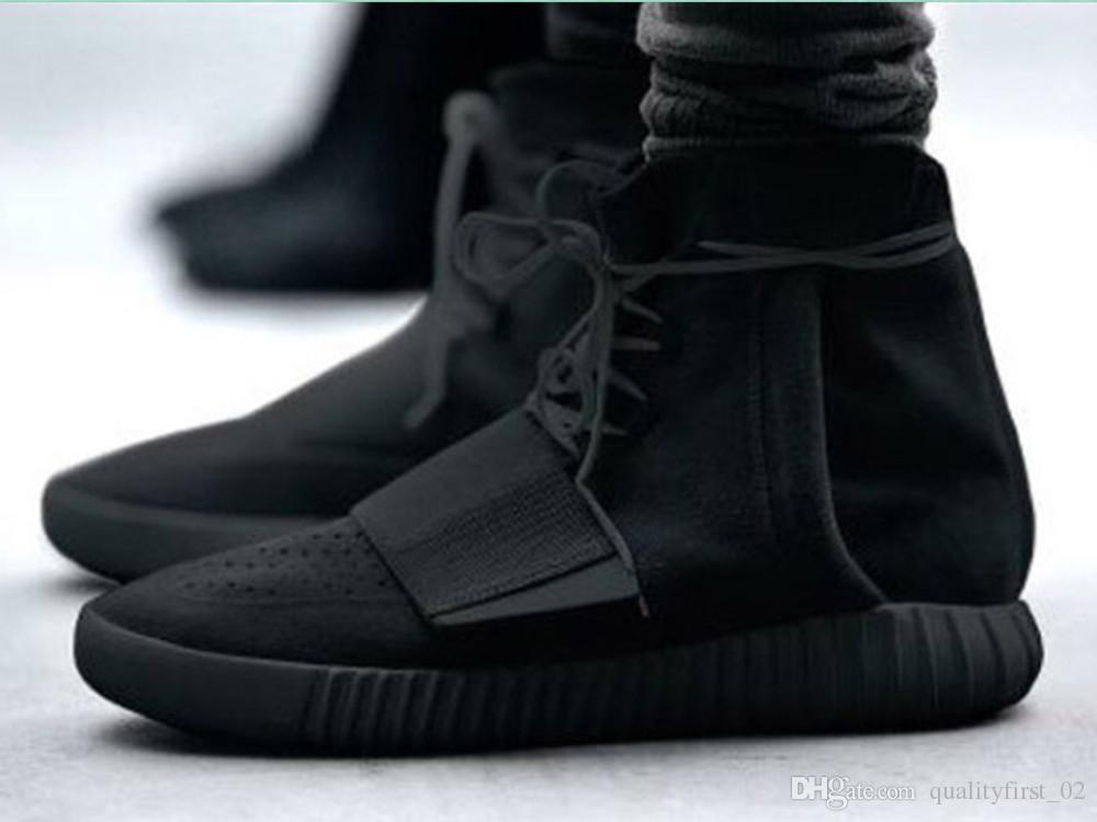 Cool Men  Women Kanye West Shoes High Cut Sneakers Boot For Sale At Cheap