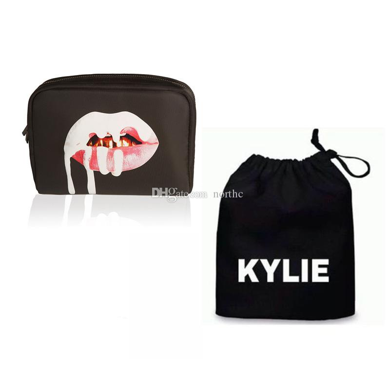 Kylie Jenner Make Up Bag Birthday Collection Makeup Bag Kylie Lip ...