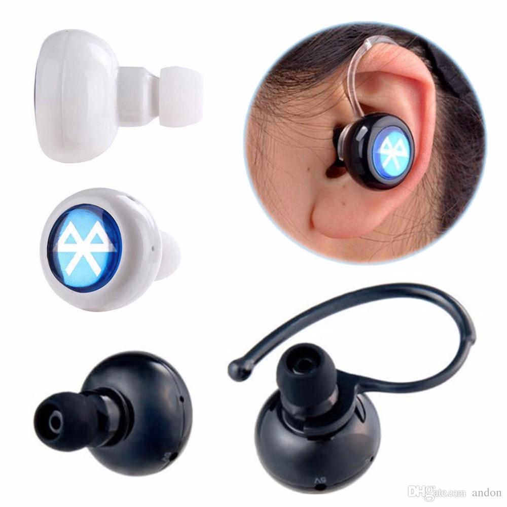 fashion mini bluetooth earphone wireless csr4 0 headphone ear headset stereo earpiece headset. Black Bedroom Furniture Sets. Home Design Ideas