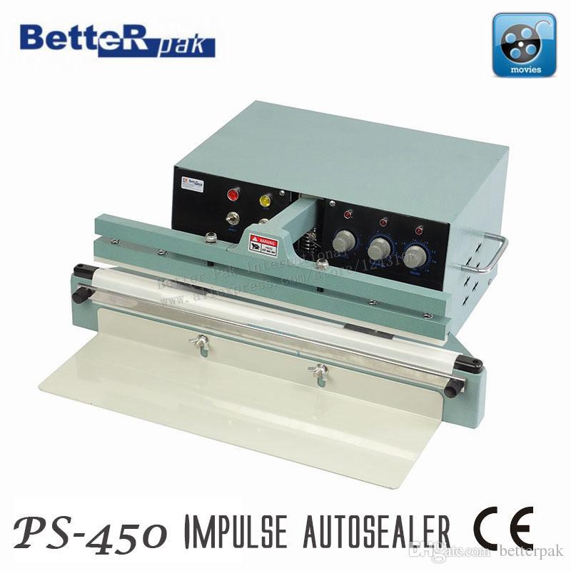 PS 450 Automatic Table Type Sealer,Desktop Band Sealing Machine,kraft  Paper/aluminum Plastic Film Bag Impulse Sealer,220V/850W Table Band Sealing  Machine ...