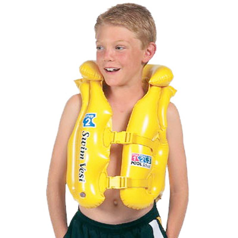 2017 Intex Children Pool Swimming Vest Kids Life Jacket Child Save Suit Boys And Girls Cute