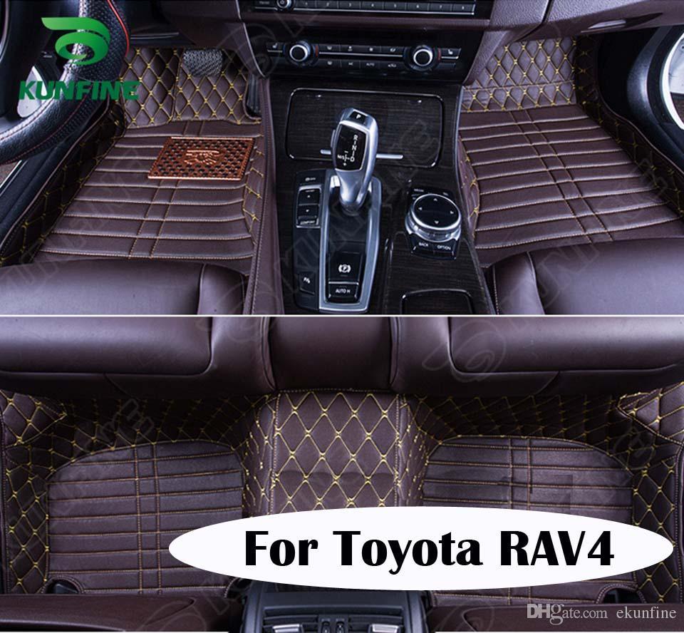 Floor mats rav4 - Top Quality 3d Car Floor Mat For Toyota Rav4 Foot Mat Car Foot Pad 4 Colors
