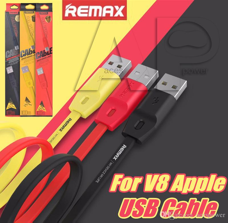 Remax Charge rapide Micro USB Data Cable Sync 1M Durable Full Speed ​​Avec Trans