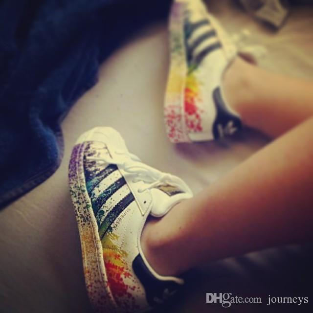 adidas superstar colours junior