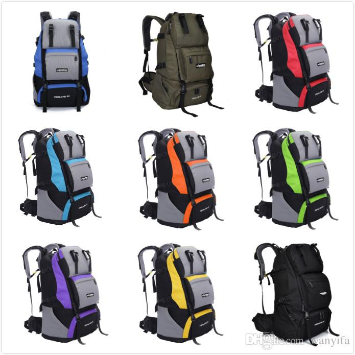 Local Lion 60L Outdoor Sports Backpack Women Or Men Travel ...