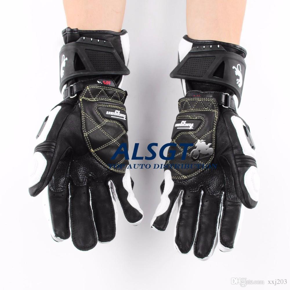 Motorcycle gloves discount - Free Shipping The French Furygan Afs10 Top Motorcycle Racing Gloves Motorcycle Riding Road Racing Genuine Leather Gloves