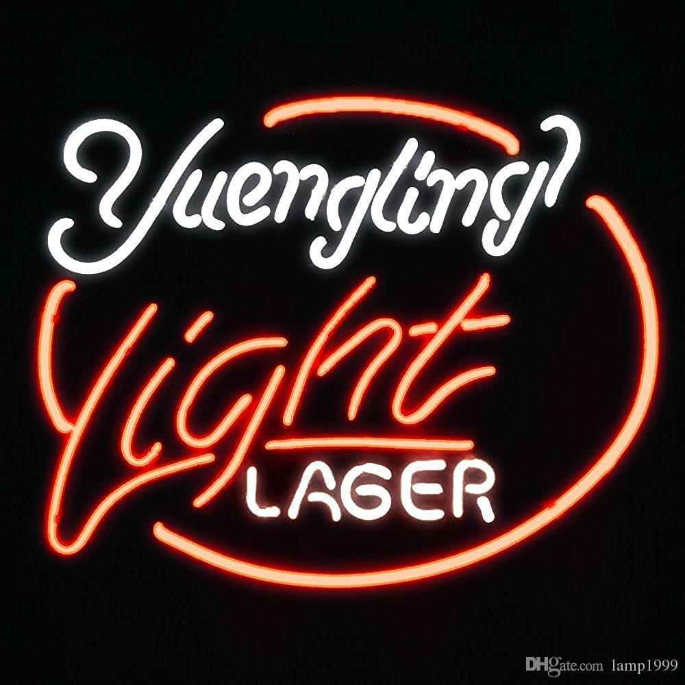 Brand New Yuengling Lager Eagle Real Glass Neon Sign Beer