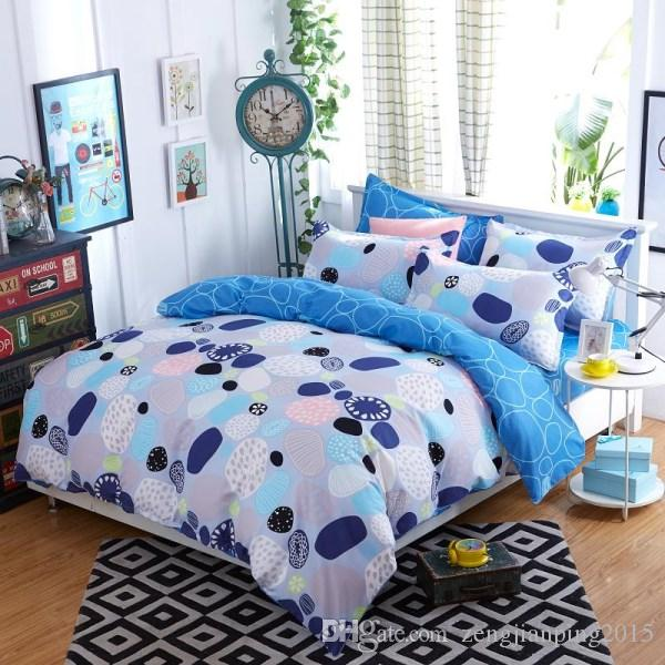 New Elegant Cotton Bedding Set For Fall Winter Floral