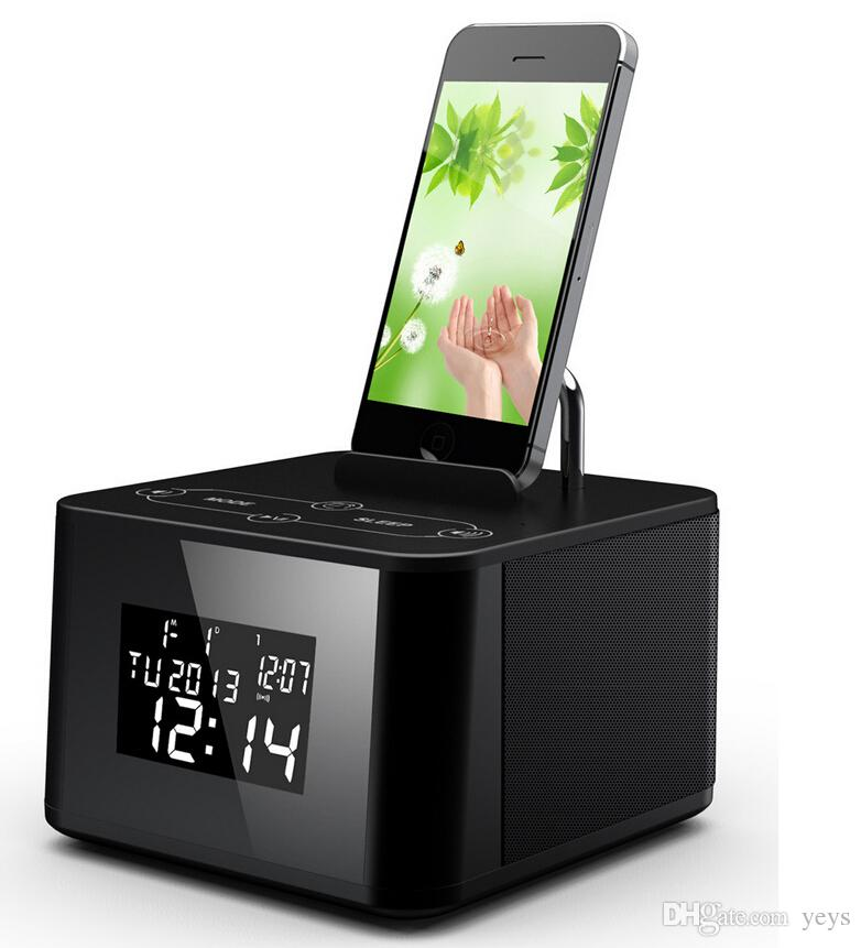 2016 New Aj86 Lcd Display Digital Radio Dual Alarm Clock
