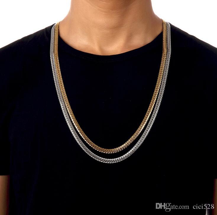 Platinum necklace for men