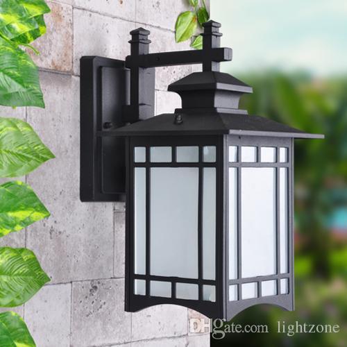 Outdoor Wall Lights Exterior Lantern Lamp Antique Vintage Garden ...
