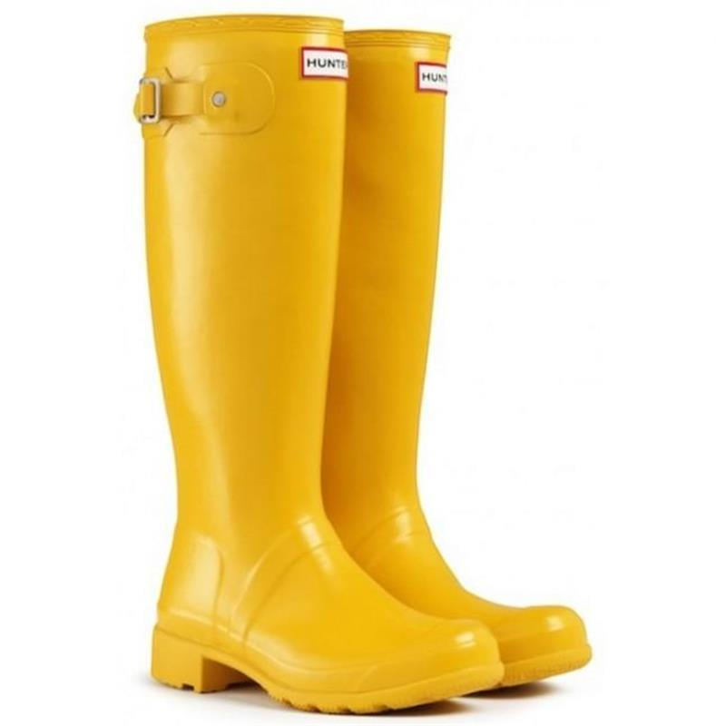 2017 New Arrival Hunter Boot Women Wellies Rainboots Ms. Glossy ...