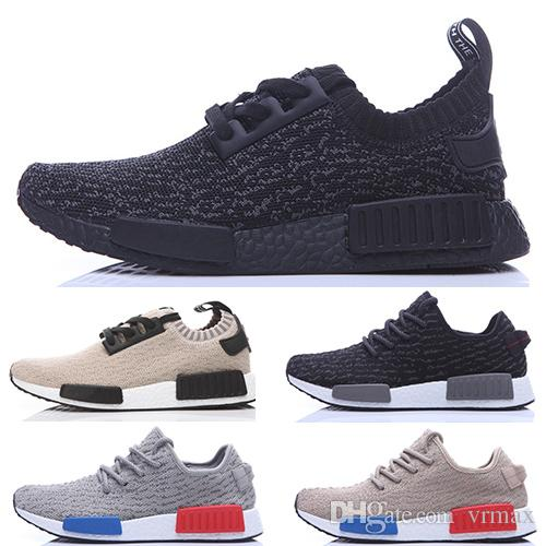 kakubl Original Nmd Runner Primeknit Pk 350 Black Oxford Tan Moonrock