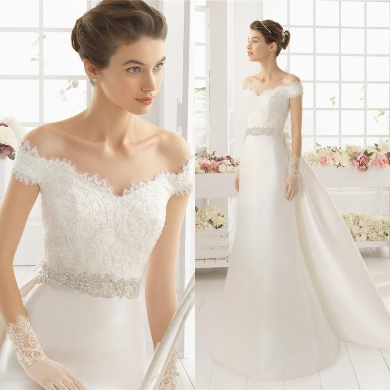 2017 over skirts elegant vintage weddings dresses princess for Cheap wedding dress sites