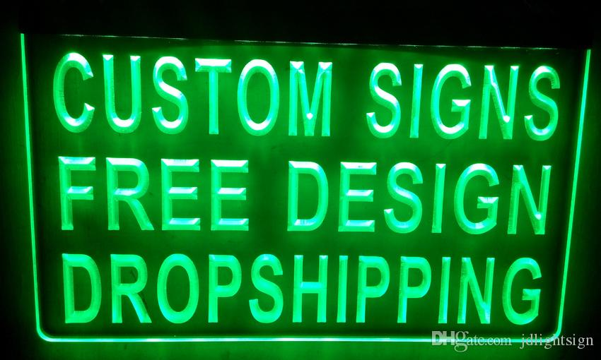 2017 Ls001 G Design Your Own Custom Light Sign Hang Sign