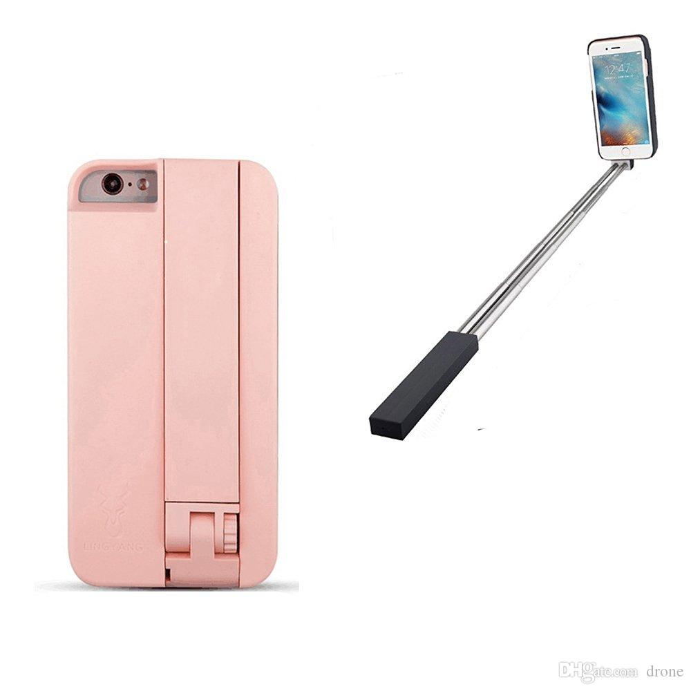 2017 2 in1 phone case selfie stick convenient fashionable mobile phone. Black Bedroom Furniture Sets. Home Design Ideas
