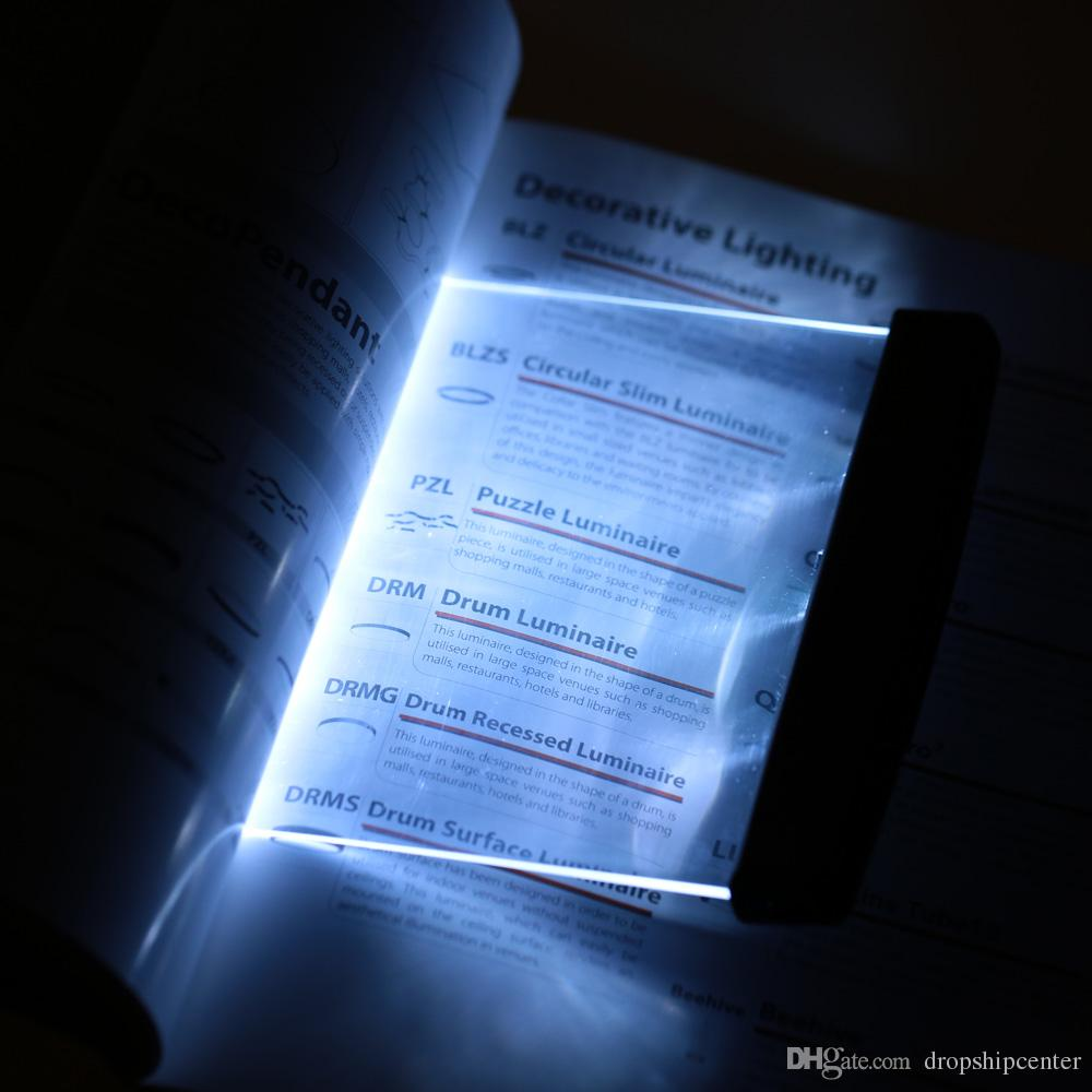 panel light  light panel reading book
