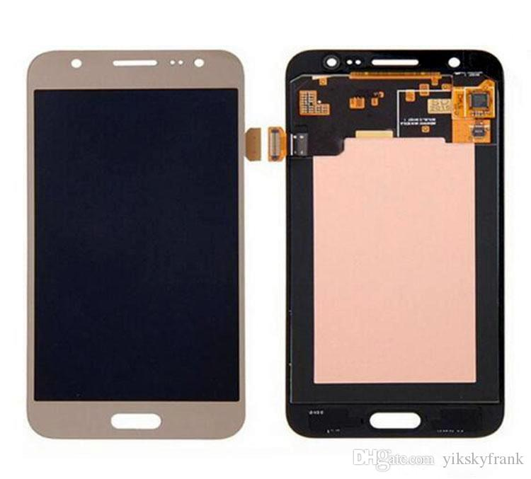 Golden black white LCD Samsung Galaxy J7 J700F J700 DIsplay + Touch Screen Digitizer Assemby