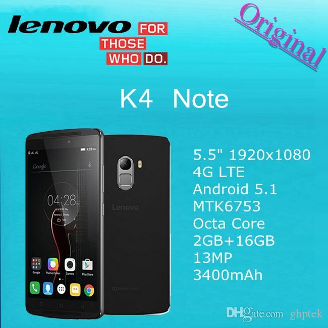 Original Lenovo X3 Lite Lemon K4 Note 5.5
