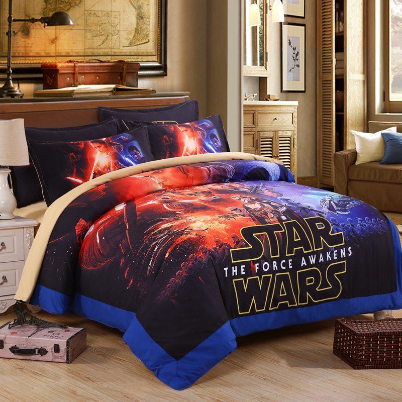 Classic Star Wars Bedding Set 3d Super King Size Duvet