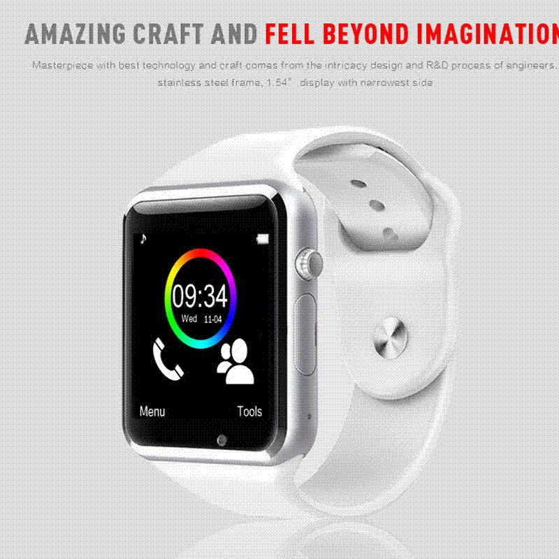bluetooth smart watch reloj inteligente montre connecter for ios apple iphone android samsung. Black Bedroom Furniture Sets. Home Design Ideas
