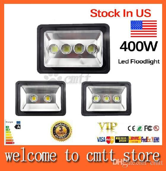 AC85-265V 200W 300W 400W LED Floodlight Outdoor LED Lampe à inondation lampe à L