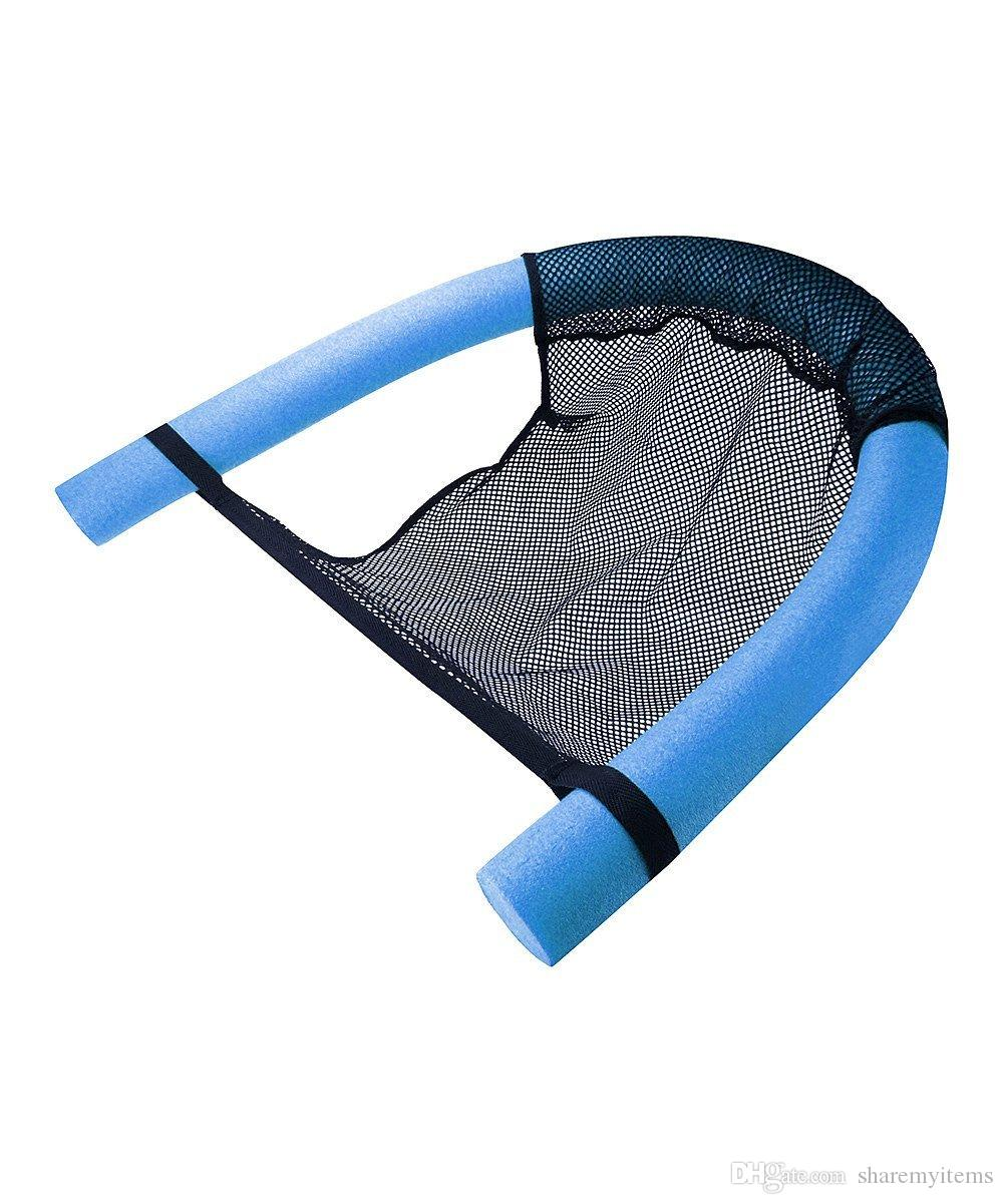 2017 Swimming Noodle Floating Chair Sling Mesh Chair Pool Seat Float From Sharemyitems