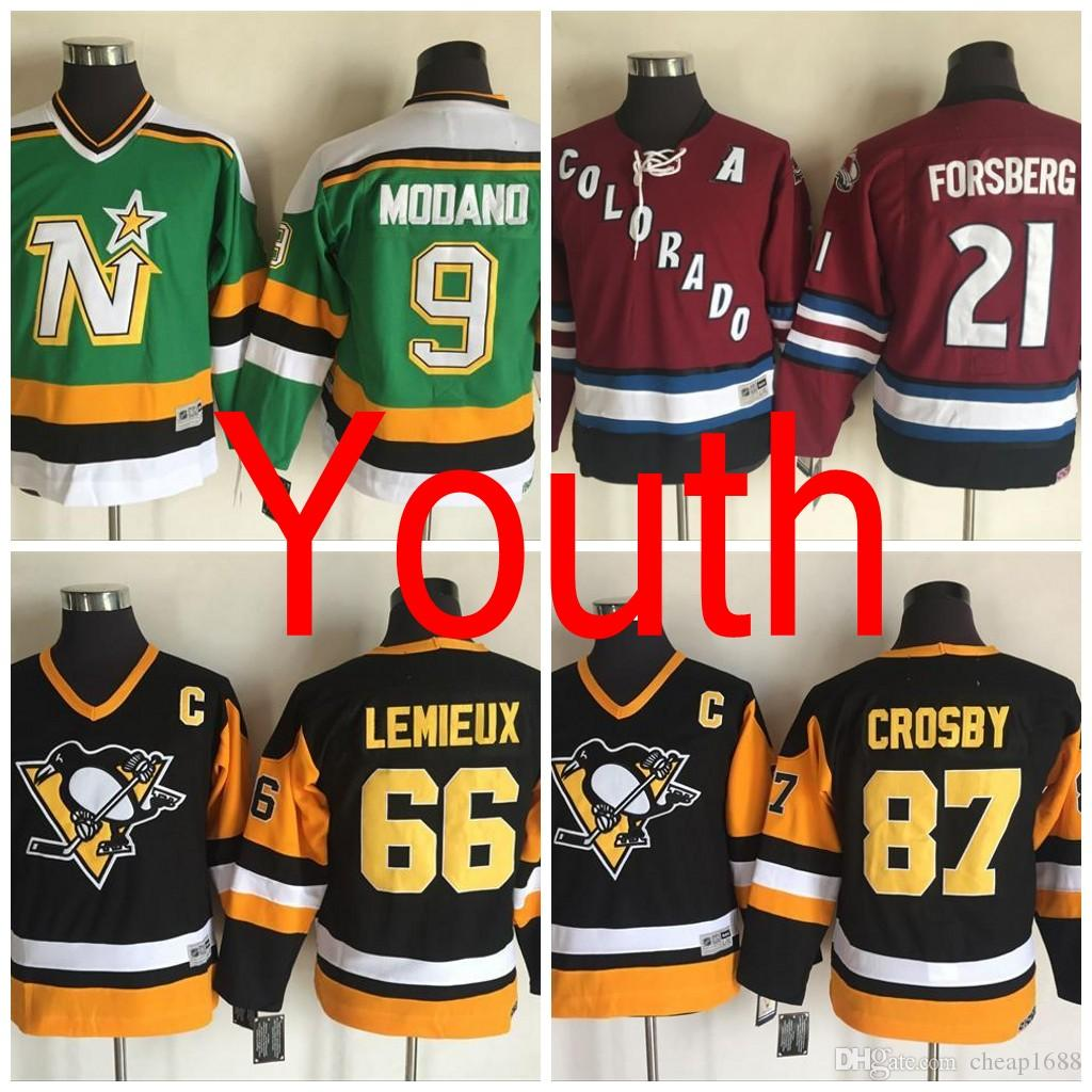 2017 2016 Throwback Youth Colorado Avalanche 21 Peter